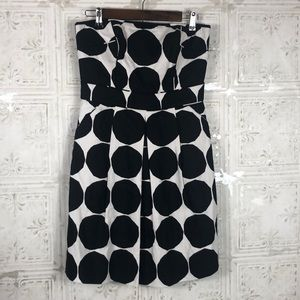 Banana Republic | marimekko polka dot dress